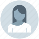 avatar, blonde, female, girl, lady, office woman, user icon