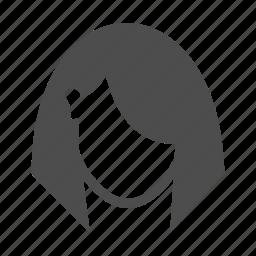 avatar, bob haircut, face, female avatar, people, person, user icon