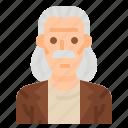 men, bald, user, hair, man, profile, avatar icon