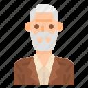 men, reliable, bald, user, man, profile, avatar icon
