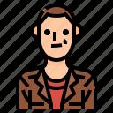avatar, bald, male, man, men, profile, user icon