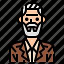 avatar, bald, man, men, profile, reliable, user icon