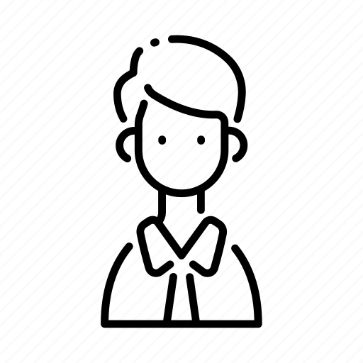 avatar, businessman, character, face, man, manager, profile icon