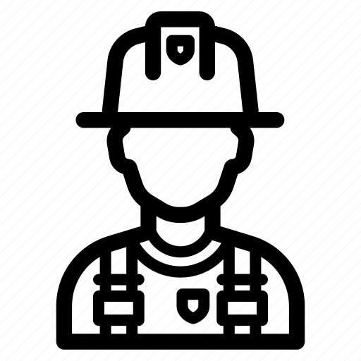 avatar, firefighter, fireman, job, profession icon