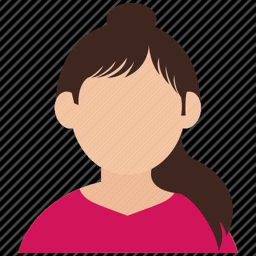 avatar, girl, user, woman icon