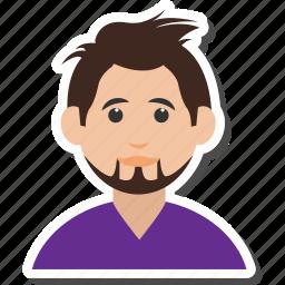 avatar, boy, businessman, caucasian, man icon