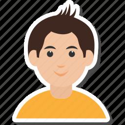 avatar, boy, kid icon