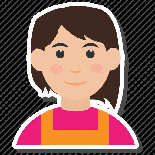 avatar, female, women icon