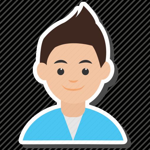 avatar, boy, man, person icon