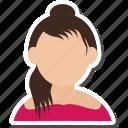 girl, hindu, lady, user, woman icon