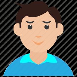 avatar, boy, kid, man icon