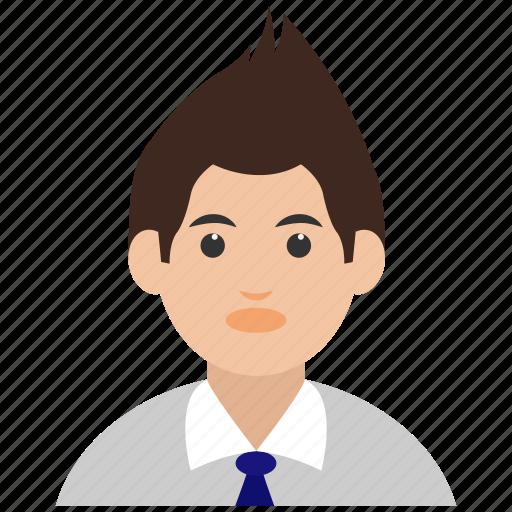 avatar, boy, man, school boy, user icon