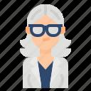 avatar, business, gray, woman, women