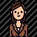 avatar, beautiful, business, woman, women icon