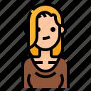 avatar, beautiful, cute, hair, long, woman, women icon