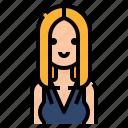 avatar, hair, long, sexy, woman, women icon