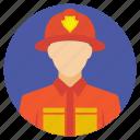emergency duty, fire emergency, firefighters, firefighting, tackling fire icon
