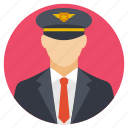 aeronautical engineer, copilot, pilot, pilot avatar, profile of a pilot icon