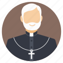 bishop, old priest, preacher, religious figure, religious scholar