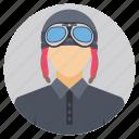 aeronautical expert, airforce pilot, avionic expert, flying gear, pilot icon