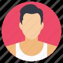 gym coach, gym expert, gym instructor, physical trainer, stylish man icon