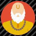 ethical figure, religious representative, spirit cleanser, spirit guru, spiritualism