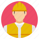 civil engineer, construction workers, engineer, engineer with helmet, supervisor icon