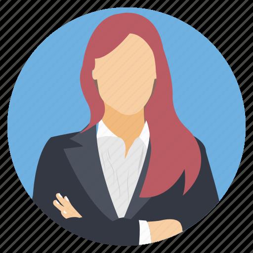 Female avatar, professional female, successful business ...