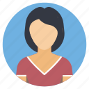 college student, female student, profile photo, student profile, undergraduate student icon