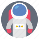 astronaut suit, flight simulation, space engineer, space flight, space suit icon