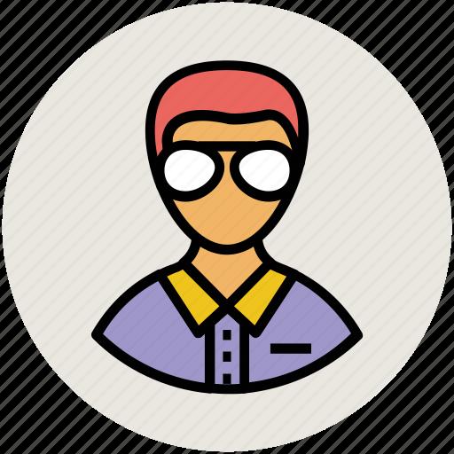 avatar, boy, gentleman, guy, man, person, profile, user, user account icon