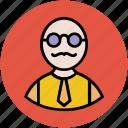 avatar, gentleman, human being, male, man, person icon