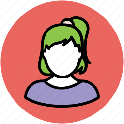 avatar, child, girl, teen girl, young girl icon