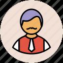 male, person, profile, user avatar, user profiles icon