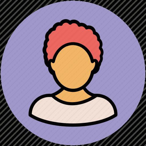 avatar, girl face, hair curler, lady, lady face, woman icon