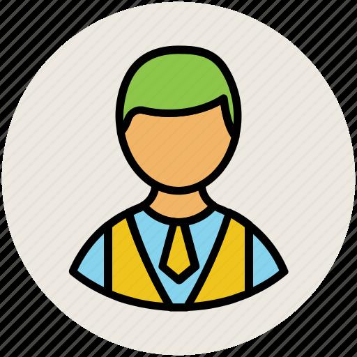 avatar, boy, boy face, guy, man, person, schoolboy icon