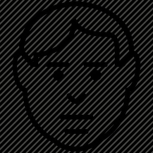 avatar, emoticons, emotion, expression, irritated, stubborn icon