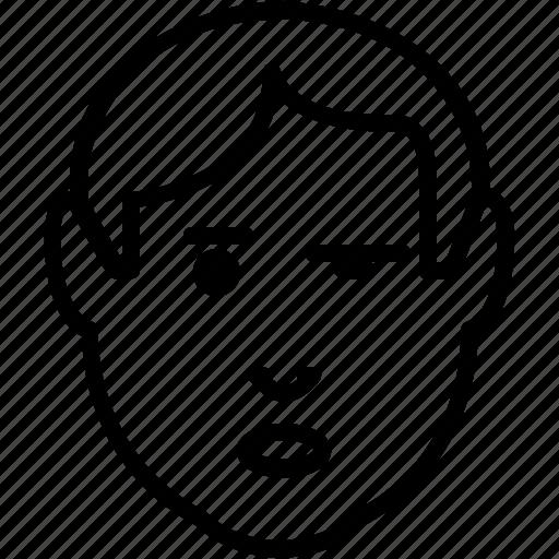 avatar, confused, emoticon, emotion, skeptical, unsure icon