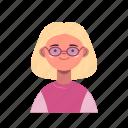 avatar, user, account, female, woman