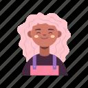 avatar, user, woman, girl, account