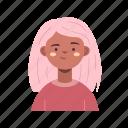 avatar, user, woman, girl, female