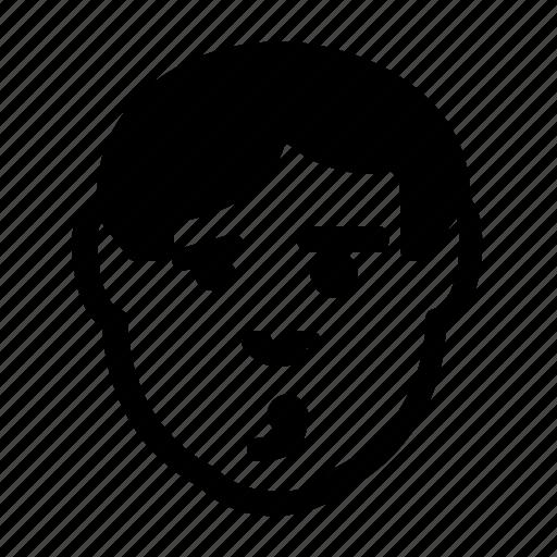avatar, emoticon, flirtatious, man, wink icon