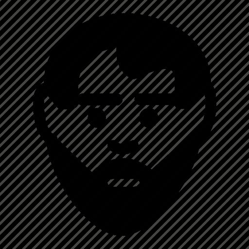 avatar, beard, face, full, man, user icon