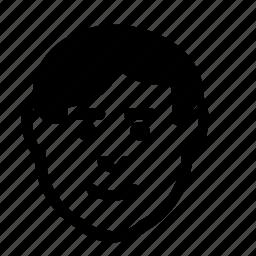 avatar, emoticon, emotion, happy, man, smile icon