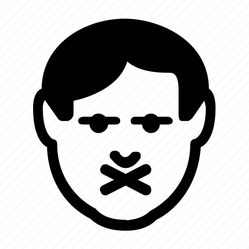 avatar, emoticon, private, secret, secure icon