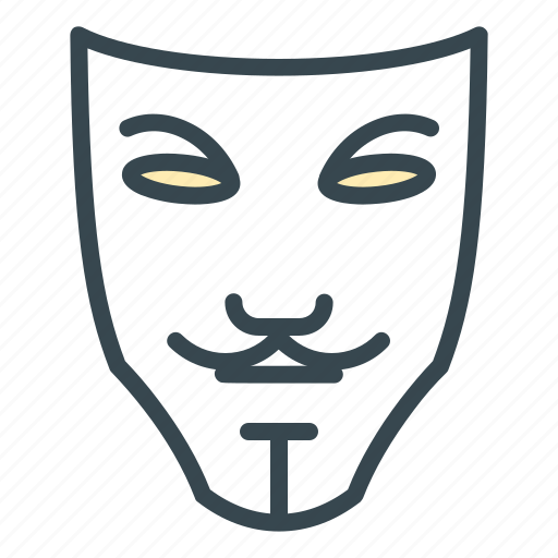 anonymous, avatar, mask, person, profile icon