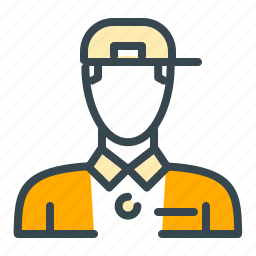 avatar, cap, man, person, profile, student icon