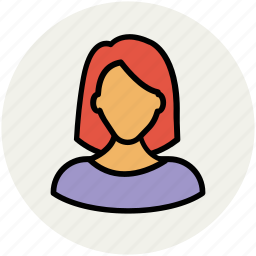 avatar, female woman, lady, madam, user icon