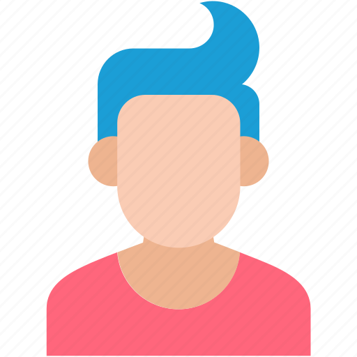 boy avatar, employee, fashion boy, stylish boy, young boy icon