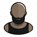 avatar, mr, profile, t, tanktop, user icon